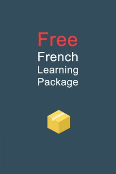 Don't forget I have a newsletter with a Free French Learning Package. On Sunday you get a newsletter with a vocabulary list with MP3! https://www.talkinfrench.com/signup-newsletter Don't hesitate to share