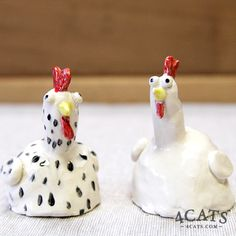Clay Chicken, upside down pinch pot