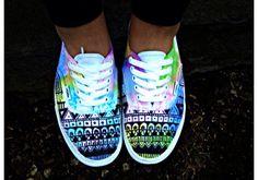Cute glow in the dark shoes!