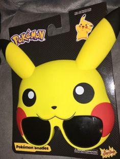 48f013a1135b Sun Staches Pokemon Pikachu Licensed Party Costumes Sunglasses NEW