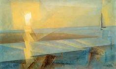 Lyonnel Feininger : Sunset 1930