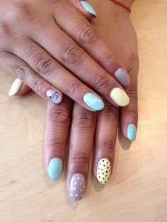 ❤️me some pastel nails - happy soul