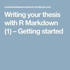 R Markdown Latex