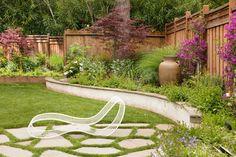 Outdoor garden corner Design Ideas, Pictures, Remodel and Decor