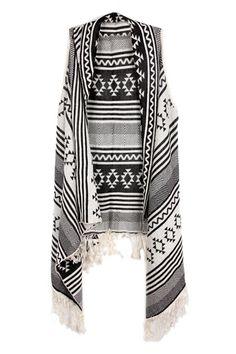 ROMWE   Asymmetric Geometric Pattern Knitted Cream Vest, The Latest Street Fashion   http://www.romwe.com/asymmetric-geometric-pattern-knitted-cream-vest-p-73046.html?Pinterest=fyerflys