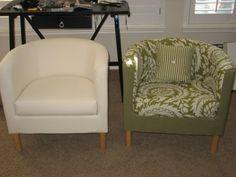 Upholstered Ikea Chair   Tullsta