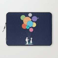 You are my universe Laptop Sleeve by I Love Doodle | Society6