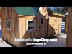 "2013 (2:22). ""Deek"" Derek Diedricksen of RelaxShack.com reviews our 8' x 8' Dollhouse. Available as kits (estimated assembly time - 2 people, 20 hours), diy plans ($19.95), or fully assembled. #playhouses https://www.youtube.com/watch?v=iXdZ0oBeII0 http://jamaicacottageshop.com/shop/doll-house-option-1/ http://cdn.jamaicacottageshop.com/wp-content/uploads/pdfs/pdf8x8dh.pdf"