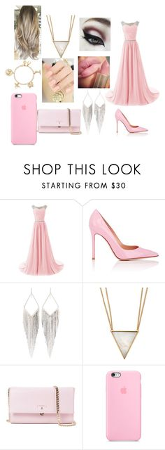 """""""gowing to my driend widding"""" by meriem-asma ❤ liked on Polyvore featuring Gianvito Rossi, Jules Smith, Panacea, Serapian and Liz Claiborne"""
