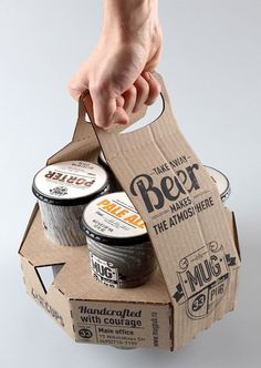 An even more funky way to package your beer... looks like ice cream. Not sure I can get into this one, but the idea is cool.