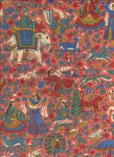 Kinnish Coral - www.BeautifulFabric.com - upholstery/drapery fabric - decorator/designer fabric