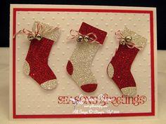 Christmas Card Club Cristena Bagne, details on her website,