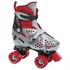 Pacer XT70 Adjustable Artistic Quad Roller Skates for Youth Children white small