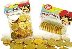 Moedas de chocolate                                                       …