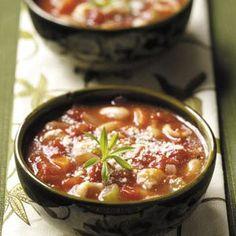 Pasta Bean Soup Recipe