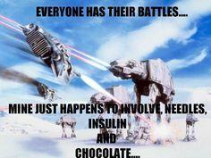 Diabetes battle