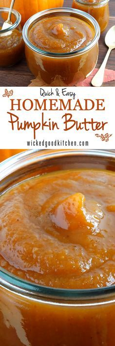 Make your own pumpkin butter Trader Joe's® style! Bright flavor notes from apple juice or cider and a touch of fresh lemon and sweetened and spiced just right. Don't wait until fall to make this quick and easy all-season version to enjoy on biscuits, muffins and scones. Ready in just 15 minutes! | all season fall diy recipe