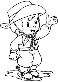Coloring Pages For Boys, Rio Grande Do Sul, Folklore, Cowboys, Indiana, Smurfs, Wallpaper, Cute Pictures, Haha