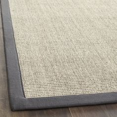 @Overstock - Hand-woven Serenity Marble/ Grey Sisal Rug (8' x 10') - Innately soft and durable rug will add a warm feel to any home decor Floor rug is hand-woven of natural fibers Serenity area rug features a casual motif    http://www.overstock.com/Home-Garden/Hand-woven-Serenity-Marble-Grey-Sisal-Rug-8-x-10/4382711/product.html?CID=214117  $260.99