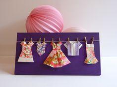 Dressing rose et violet créé par Estampapier. Vendu 18€