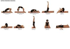 Yoga Poses (Asana) Hattha Finishing Sequence 5