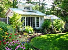 Garden Room with Spa and Greenhouse - traditional - Garage And Shed - Boston - Garden Tech Horticultural Services LLC