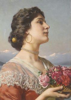 Wladislaw Czachorski (1850 - 1911) - The bouquet