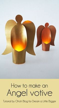 Ohoh Blog - diy and crafts: DIY angel votive