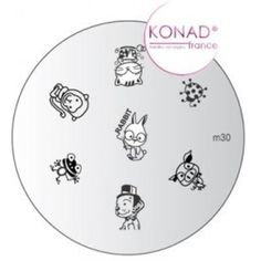 Konad Stamping Nail Art Image Plate - M30 -- To view further for this item, visit the image link. (This is an affiliate link) #ToolsAccessories