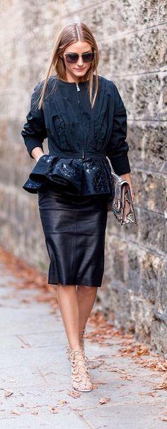Olivia Palermo's Street Chic.