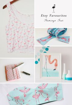 Lorelai's Things: Etsy Favourites - Flamingo Fest
