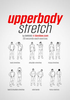 Upperbody Stretch Workout | Posted By: CustomWeightLossProgram.com