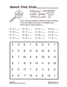 math worksheet : kindergarten math worksheets  maths games printables grade 3  : Maths Games Worksheets