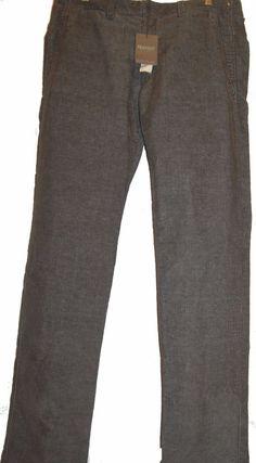 Tranzit Brown Cotton Men Casual Corduroy Pants Size US 2XL 38 EU 56 Retail $ 340 #Tranzit #CasualPants