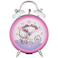 Hello Kitty Alarm Clock fab prize,my little girl would love this