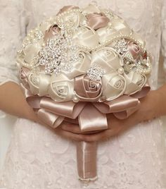 Brooch bouquet wedding bouquet bridal bouquet от iamshoppingqueen