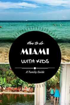 Miami with kids is a lot of fun. Trust me! It's not just for bachelorette and beach parties. There are plenty of fun activities to do with the family. Check out my family guide to Miami to see.