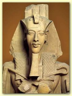 9. The Face of Pharaoh Akhenaten who was Moses our ancestor thru his Grandson High King Gaedhol Glas of 1389BC in Ireland who named Scotland after his mother back in Egypt Princess Scota Pharaoh Akhenaten's-MOSES first born daughter!