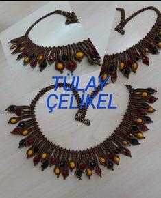 Random Tutorial and Ideas Snake Necklace, Rope Necklace, Crochet Necklace, Beaded Necklace, Beaded Bracelets, Diy Jewelry, Jewelry Sets, Beaded Jewelry, Jewelery
