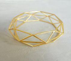 Bracelet bijoux architecturaux urbain bijoux par ShlomitOfir