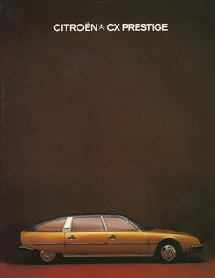 Citroen CX Prestige - Ma première voiture