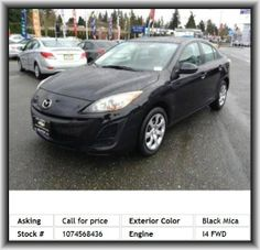 2011 Mazda MAZDA3 i Sport Sedan  Rear Stabilizer Bar: Regular, Am/Fm/Satellite-Capable Radio, 4-Wheel Abs Brakes, Suspension Class: Regular, Front Leg Room: 42.0, Total Number Of Speakers: 4, Front And Rear Suspension Stabilizer Bars, Overall Height: 57.9, Plastic/Rubber Shift Knob Trim, Center Console: Full With Covered Storage, Independent Front Suspension Classification, Side Airbag, Independent Rear Suspension, Tires: Width: 205 Mm, Body-Colored Bumpers