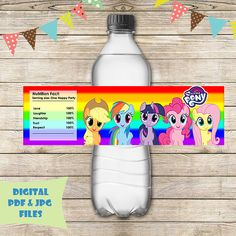 Baby Alive Doll Clothes, Baby Alive Dolls, Little Poni, My Little Pony Birthday, Disney Pixar Cars, Bottle Labels, Pay Attention, Mlp, Scrapbooking
