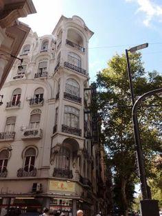 Hotel Chile, Av. de Mayo y Santiago del Estero. (Buenos Aires) art nouveau  ❤