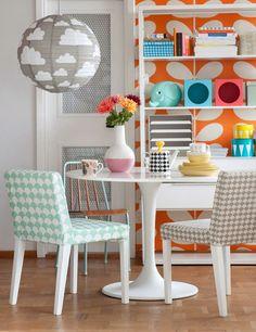 inspiration | super bright, super colourful home