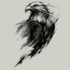 Αποτέλεσμα εικόνας για eagle tattoo figure black
