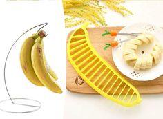 Termékek Kupon - 60% kedvezménnyel - Termékek - Banánérlelő állvány+szeletelő. Kétdarabos konyhai szett most 1.490 Ft helyett 590 Ft-ért!. Banana, Fruit, Food, Essen, Bananas, Meals, Fanny Pack, Yemek, Eten