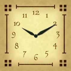 Woodworking Clock Faces