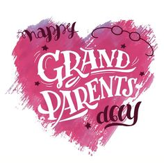 Happy Grandparents Day Image, Grandparents Day Cards, National Grandparents Day, Happy Birthday Greeting Card, Happy Fourth Of July, Happy Memorial Day, Day Wishes, Vector Free, Inspirational Quotes