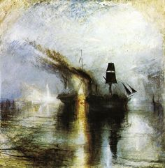 Peace - Burial at Sea : Joseph Mallord William Turner : Museum Art Images : Museuma
